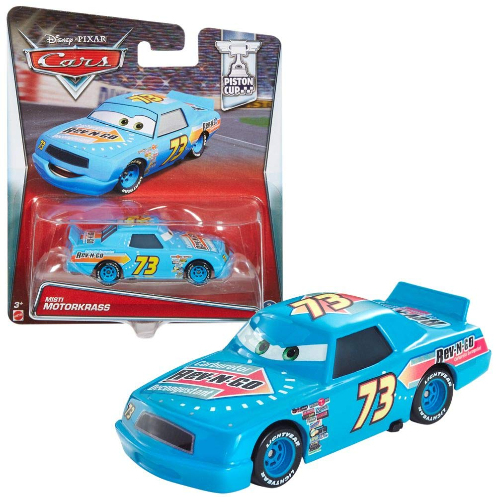 BUMPER SAVE  1:55 New 2015 Disney Pixar Cars PONCHY WIPEOUT