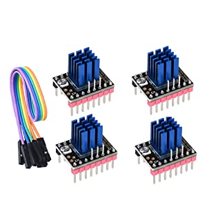 BIGTREETECH DIRECT TMC2208 V3.0 DIY Upgrade Stepper Motor Driver for SKR V1.3 Mini E3 Ramps 1.4/1.6 3D Printer Board 3D Printer Parts (4pcs)
