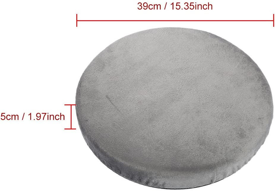 Car Use Swivel Seat Cushion Swivel Chair Pad Comfort Skidproof Pad Office Home Use Revolving Foam Mobility Chair