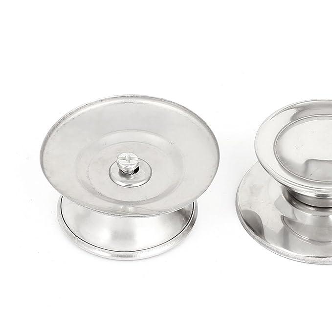 2 Stk Küchen und Kochgeschirr Glasdeckelknauf für Pfannen