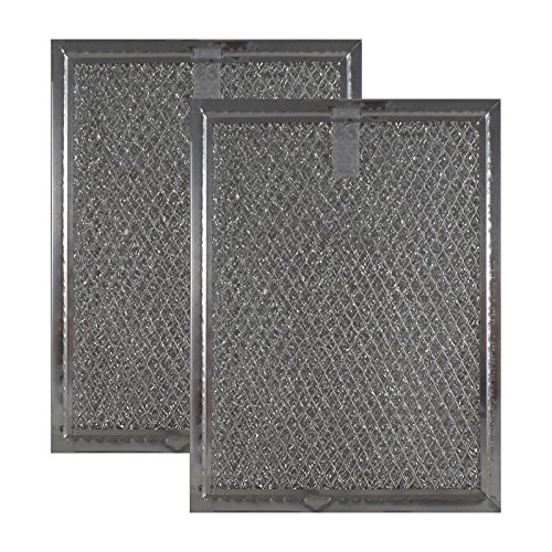 superlin Replaces Frigidaire 530444033 Compatible Microwave Grease Filter 5-7/8 X 7-7/8 X 1/8-2PK by superlin
