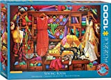 EuroGraphics Sewing Craft Room 1000-Piece Puzzle Jigsaw