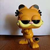 Amazon Com Funko Pop Comics Garfield Garfield Multicolor Standard Toys Games
