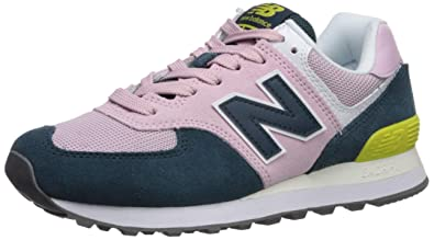f74d4bb15dbe2 Amazon.com | New Balance Women's WL574 CORE PLUS-W Lifestyle Sneaker ...