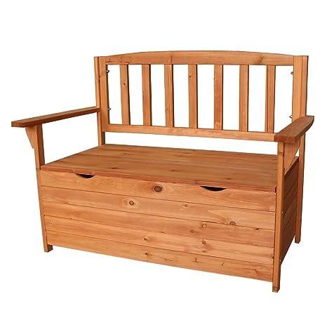 Amazon.com: Caja de almacenamiento para sillón de madera de ...