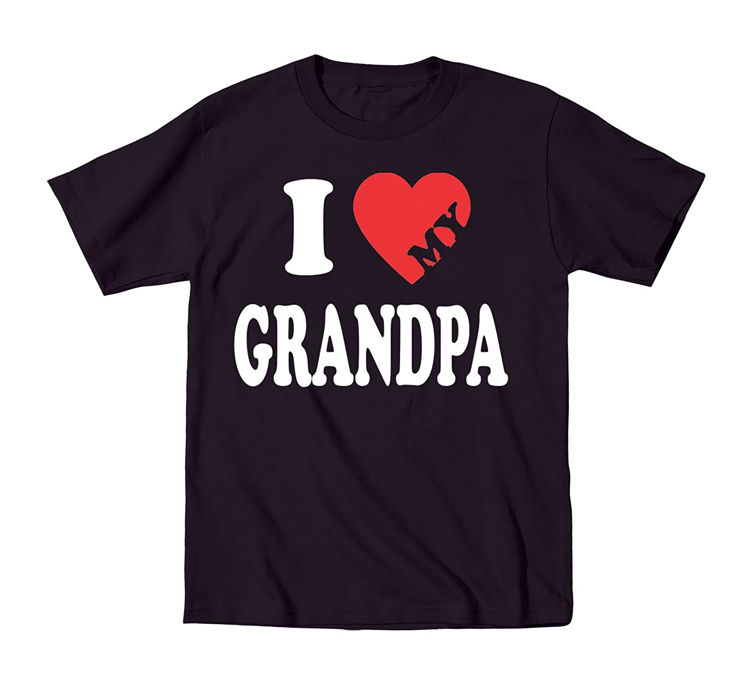 I Love Heart My Grandpa Toddler Shirt