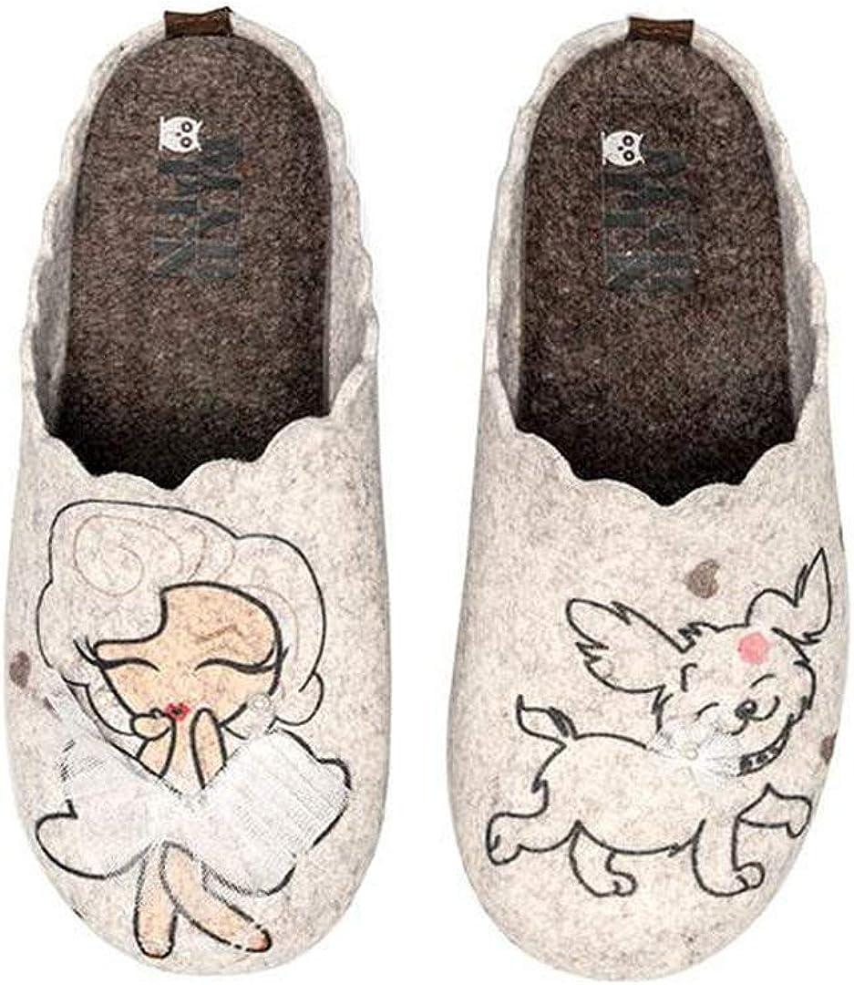 Slippers Marilyn en Gris