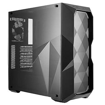 Cooler Master MasterBox TD500L Carcasa de Ordenador Midi-Tower Negro - Caja de Ordenador (