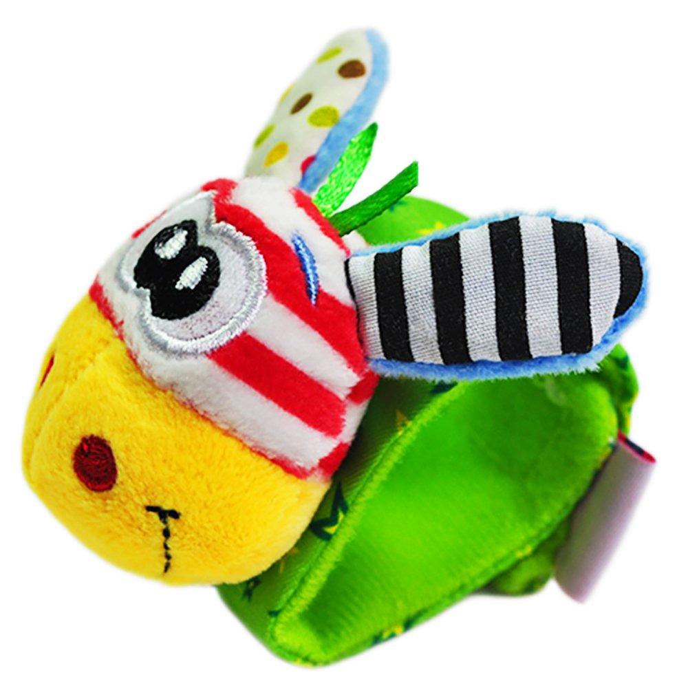 Newin Star - Juegos Infantiles,Pulsera Sonajero Animales,Juguete Suave  Educativo con Linda muñeca para bebé (Rana Amarillo)  Amazon.es  Juguetes y  juegos 5d1575bab6b