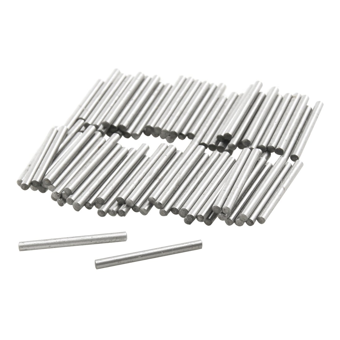 100 Pcs Stainless Steel 1.4mm x 15.8mm Dowel Pins Fasten Elements Sourcingmap a12042300ux0534