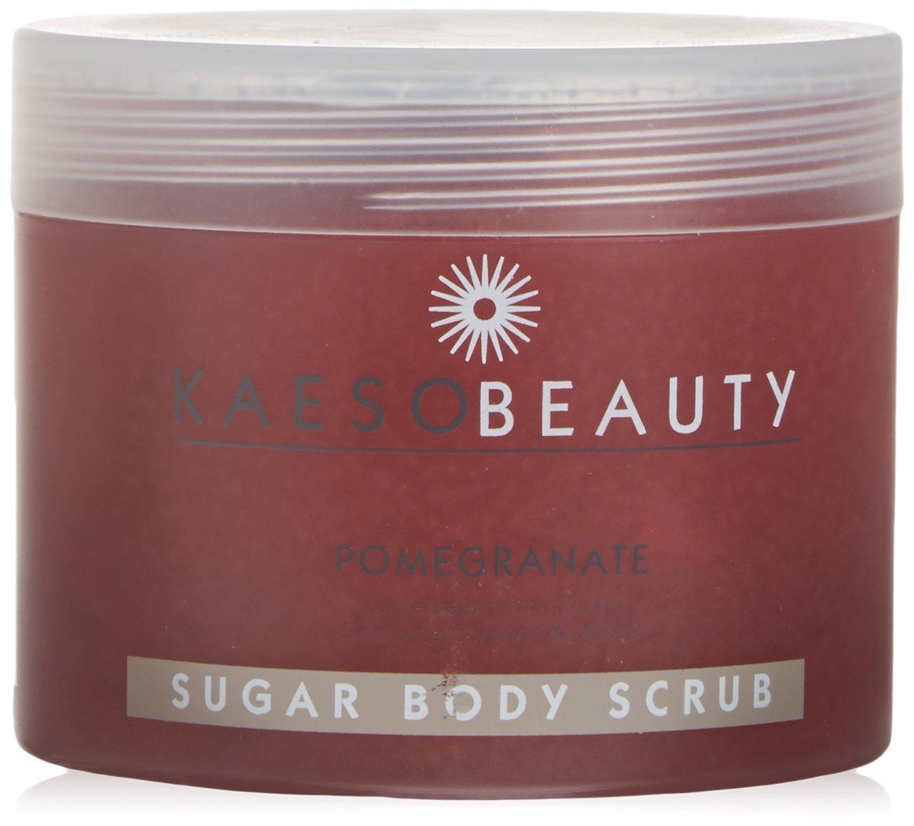 Kaeso Beauty Pomegranate Sugar Body Scrub (450ml)