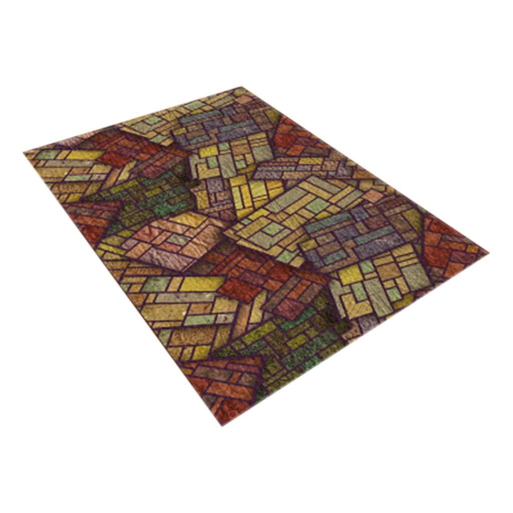 Meidexian888 Home Decor Carpet, Notre Dame Photo Commemorative Day Comfortable Carpet (F)