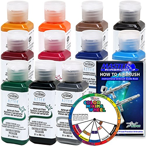 TESTORS Premium Transparent Airbrush 11 Color product image