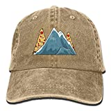 Category Mountains Of Papua New Guinea And Pizza Adult Sport Adjustable Baseball Cap Cowboy Hat