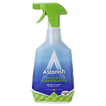 Astonish Mould & Mildrew Remover Bacteria Killer Cleaner Trigger Spray 750ml