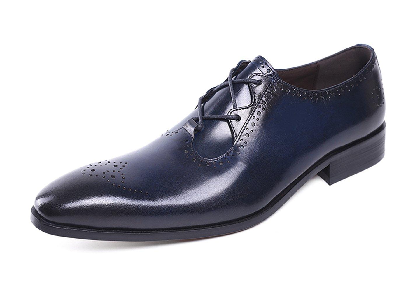 Felix Chu Men's Italian Designer Luxury Perfect Genuine Calf Leather Shoes Men Dress Shoes Men Wedding Shoes Men Office Business Shoes