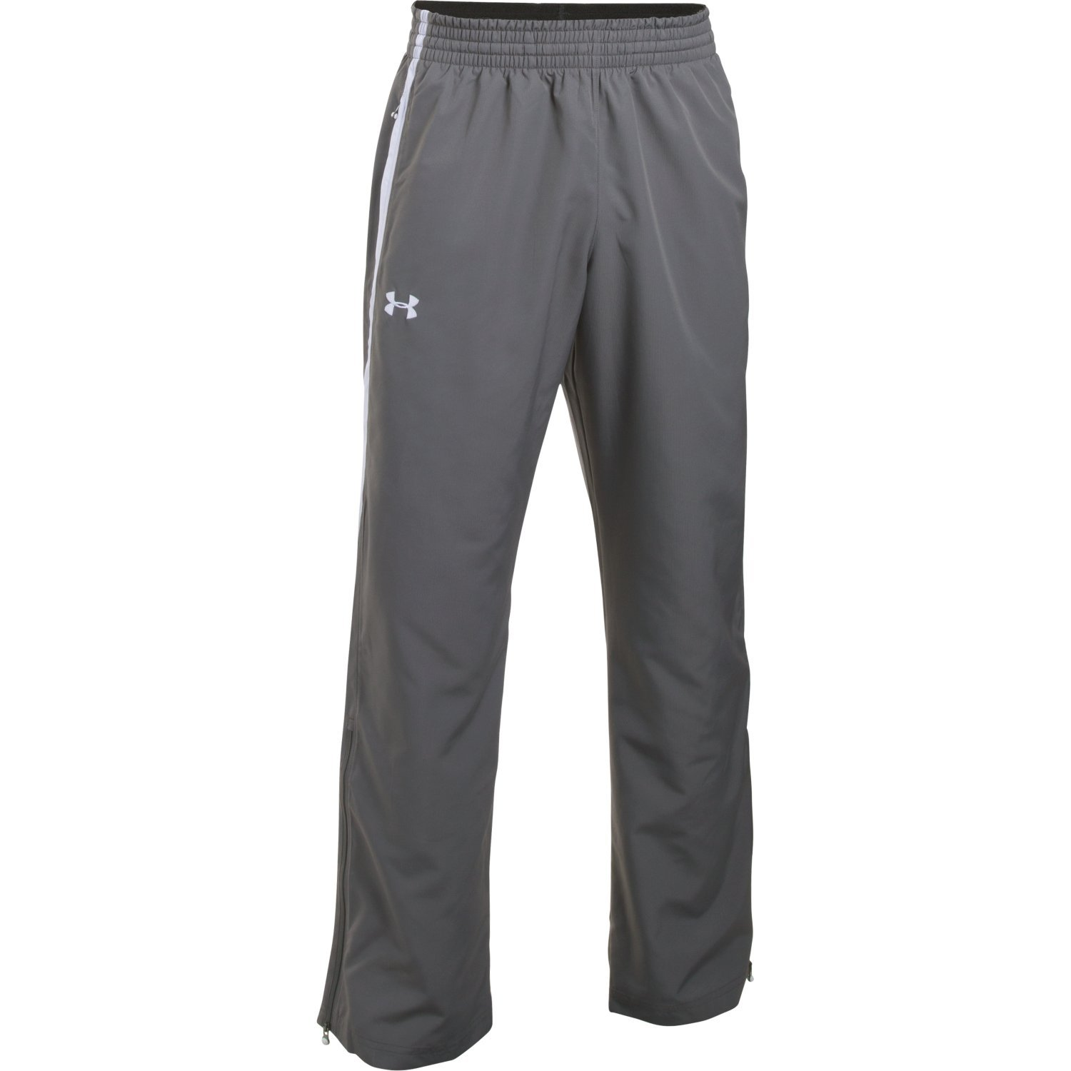 Under Armour Team Essential Woven Men's Warm-Up Pants (Graphite/White, Small)