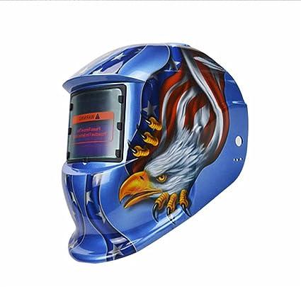 genmine® Águila Solar oscurecimiento automático MIG MMA eléctrico soldadura máscara/casco/Soldadura lente