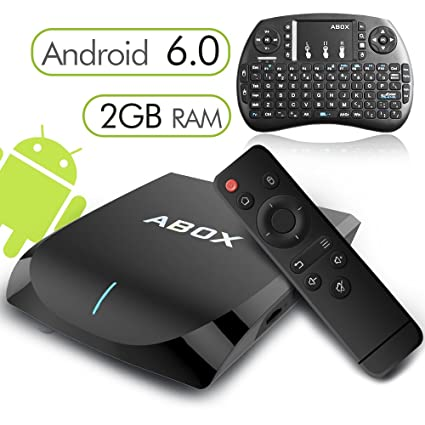 2017 Model Globmall ABox A2 Android 6 0 TV Box with Amlogic S905X 64 Bits  2GB RAM 16GB ROM and True 4K Playing
