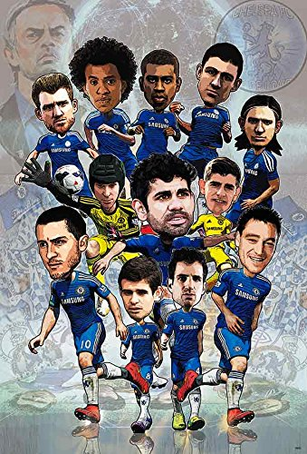 CHELSEA F.C. 2015 Football Soccer Wall Decoration Poster (#008)