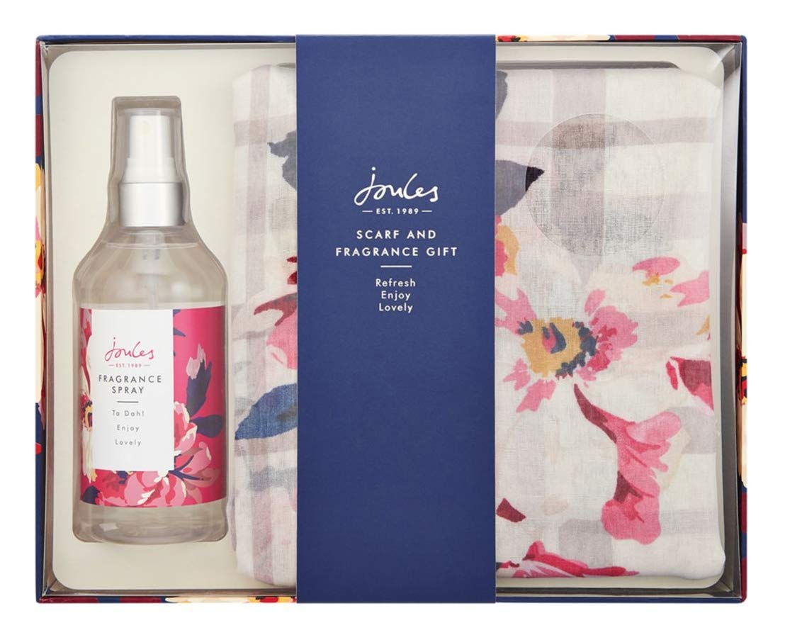 Joules Scarf And Fragrance Gift Set
