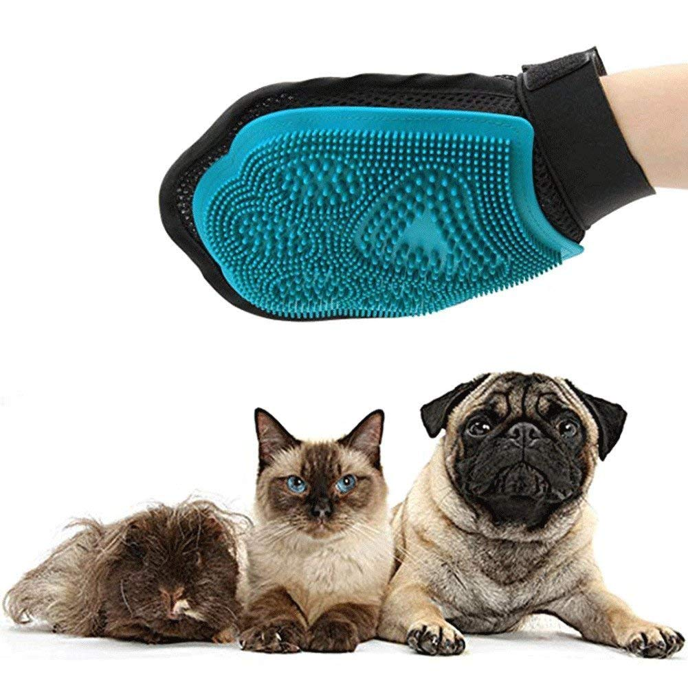 Animal Massage Hair Removal Dog Bath Glove - Dog Cat Hair Comb - Cleaning Brush Comb - Pet Grooming Products
