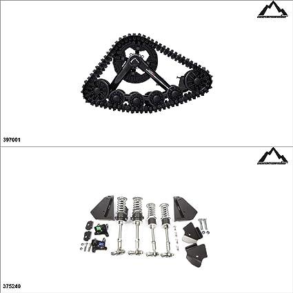 Amazon com: Commander WS4 ATV Track Kit - 4 Seasons, Honda