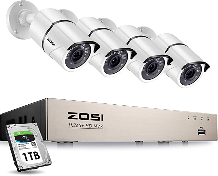 Top 9 Home Security Camera System 6Mp