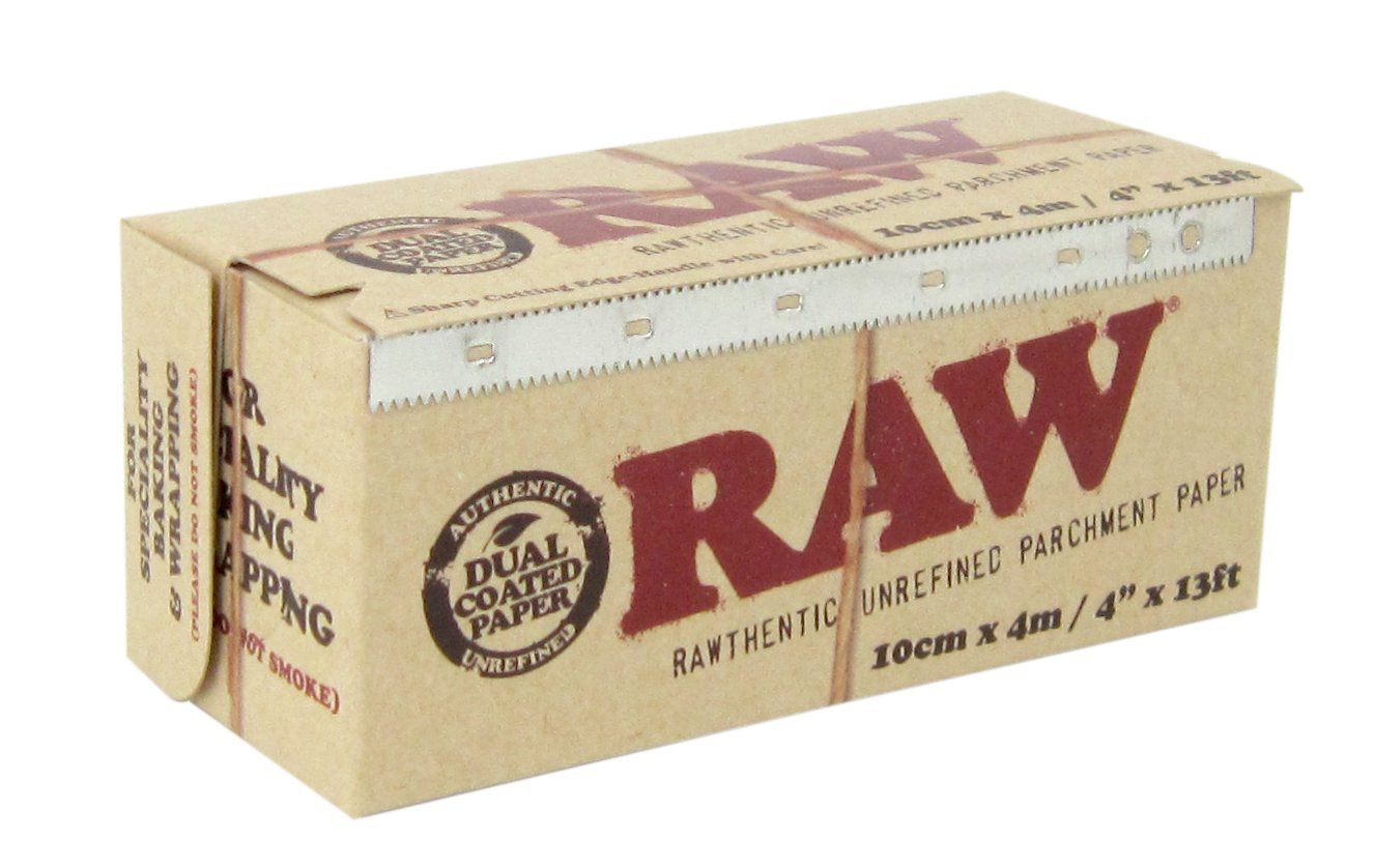RAW Unrefined Parchment Paper Roll 400mm x 15m