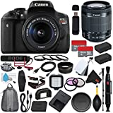 6Ave Canon EOS Rebel T6i DSLR Camera with EF-S 18-55mm f/3.5-5.6 IS STM Lens 0591C003 + Rode VideoMic GO + Deluxe Cleaning Kit + Pro Hand Camera Grip + SD Card USB Reader + Mini HDMI Cable Bundle