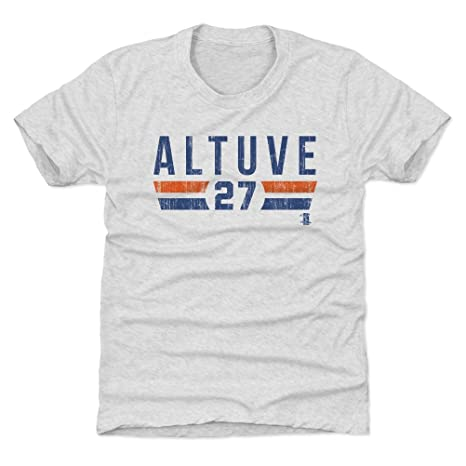 the best attitude 24a0a 4ea93 500 LEVEL Jose Altuve Houston Baseball Kids Shirt - Jose Altuve Font