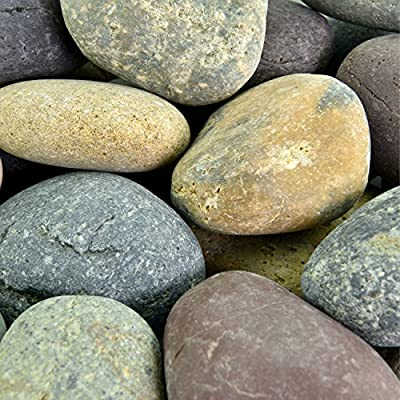 Southwest Boulder & Stone Mexican Beach Pebbles | Smooth Stones, Hand-Picked for Garden & Landscape Design