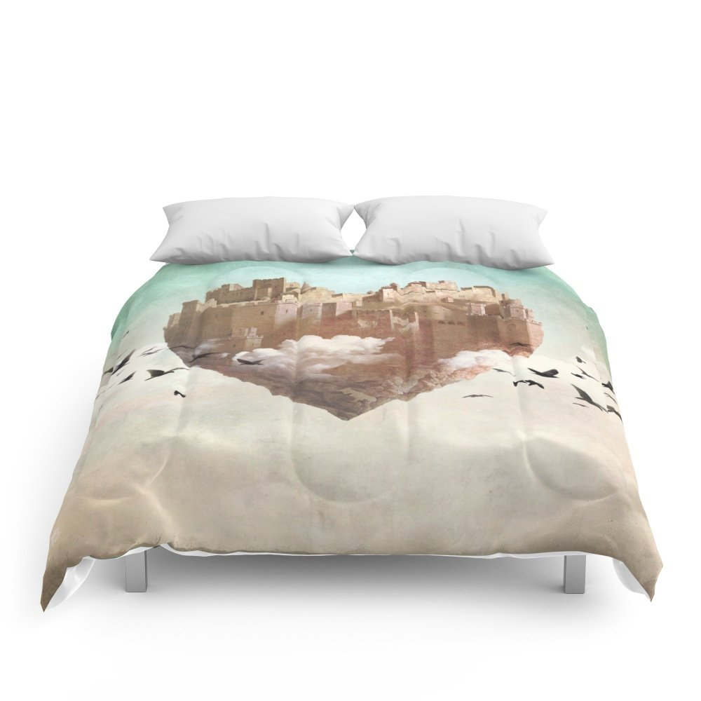 Society6 My Heart Is My Castle Comforters King: 104'' x 88'' by Society6
