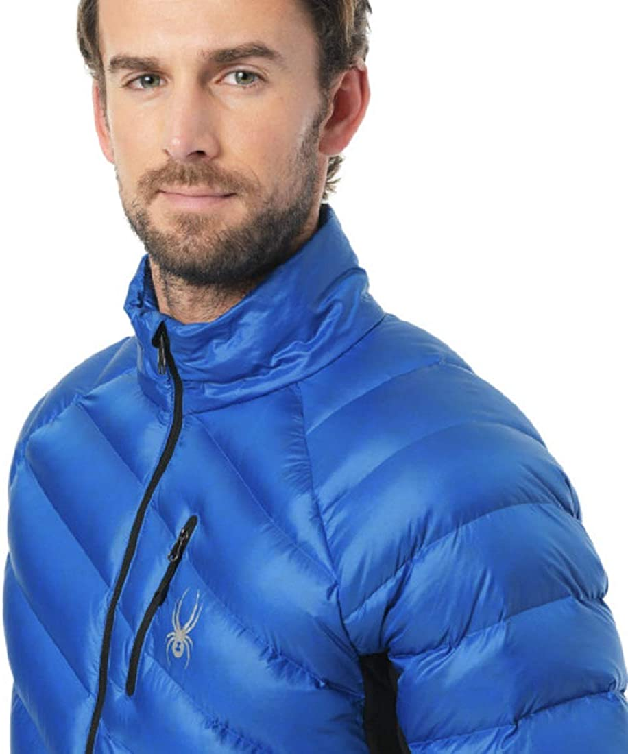 SPYDER Men/'s Syrround Hybrid Half Zip Waterproof Jacket for Winter Sports