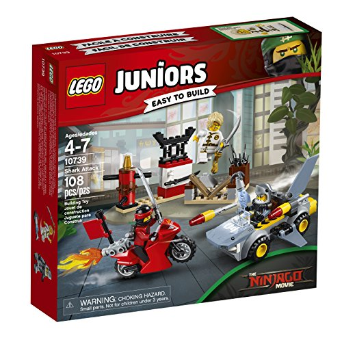 LEGO Juniors Shark Attack 10739 Building Kit (108 Piece)