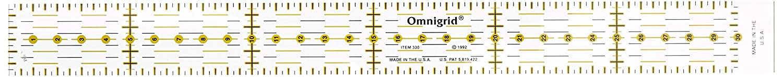 Regolo universale 3 x 30 cm Dritz R330