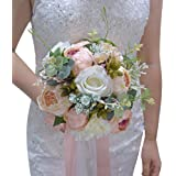 ETERNAL ANGEL Wedding Romantic Bouquet Bride Bridal Bouquets Bridesmaid Bouquet Artificial Flowers Valentine's Day…