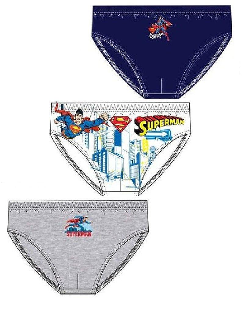 Fashion Oasis Boys Official Licensed Batman Or Superman Briefs 3 Pack Set