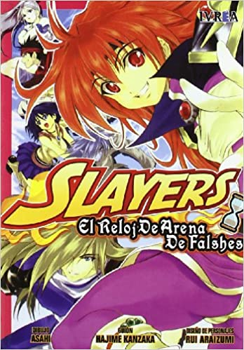 Amazon.com: Slayers: El Reloj De Arena De Falshes / the Sand Clock of Falshes (Spanish Edition) (9788415108146): Hajime Kanzaka: Books