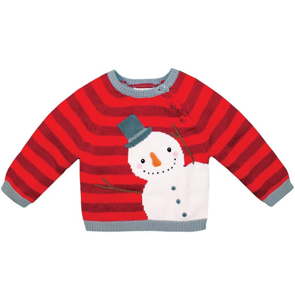 zubels sweater ユニセックスベビー b074jl8kxn 6 レッド 6 month month