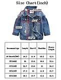 Baby Boys' Basic Denim Jacket Button Down Jeans