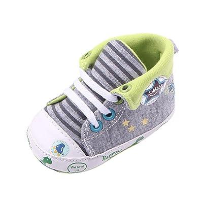 KONFA Toddler Baby Boys Girls Cartoon Dinosaur Anti-slip Shoes,for 0-12 Months,Kids Fashion Prewalker Single Sneakers: Clothing