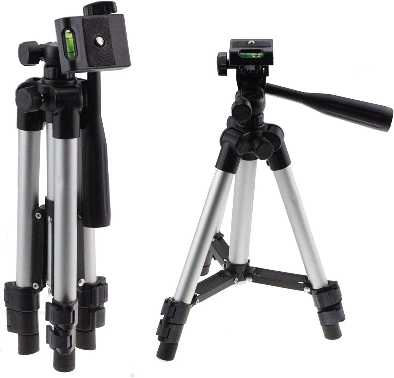 Navitech Lightweight Aluminium Tripod Compatible with The Kodak PIXPRO AZ527 Astro Zoom Bridge Camera
