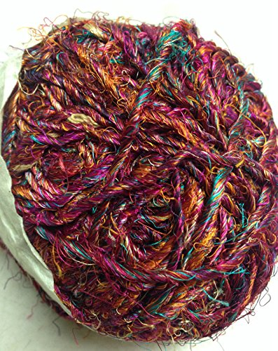 Yarn Place 1 LARGE Hand-Spun Ball Himalaya Recycled - Recycled Yarn