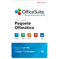 OfficeSuite Home & Business 2020 - licencia completa - Compatible con Microsoft® Office Word®, Excel®, PowerPoint® para…