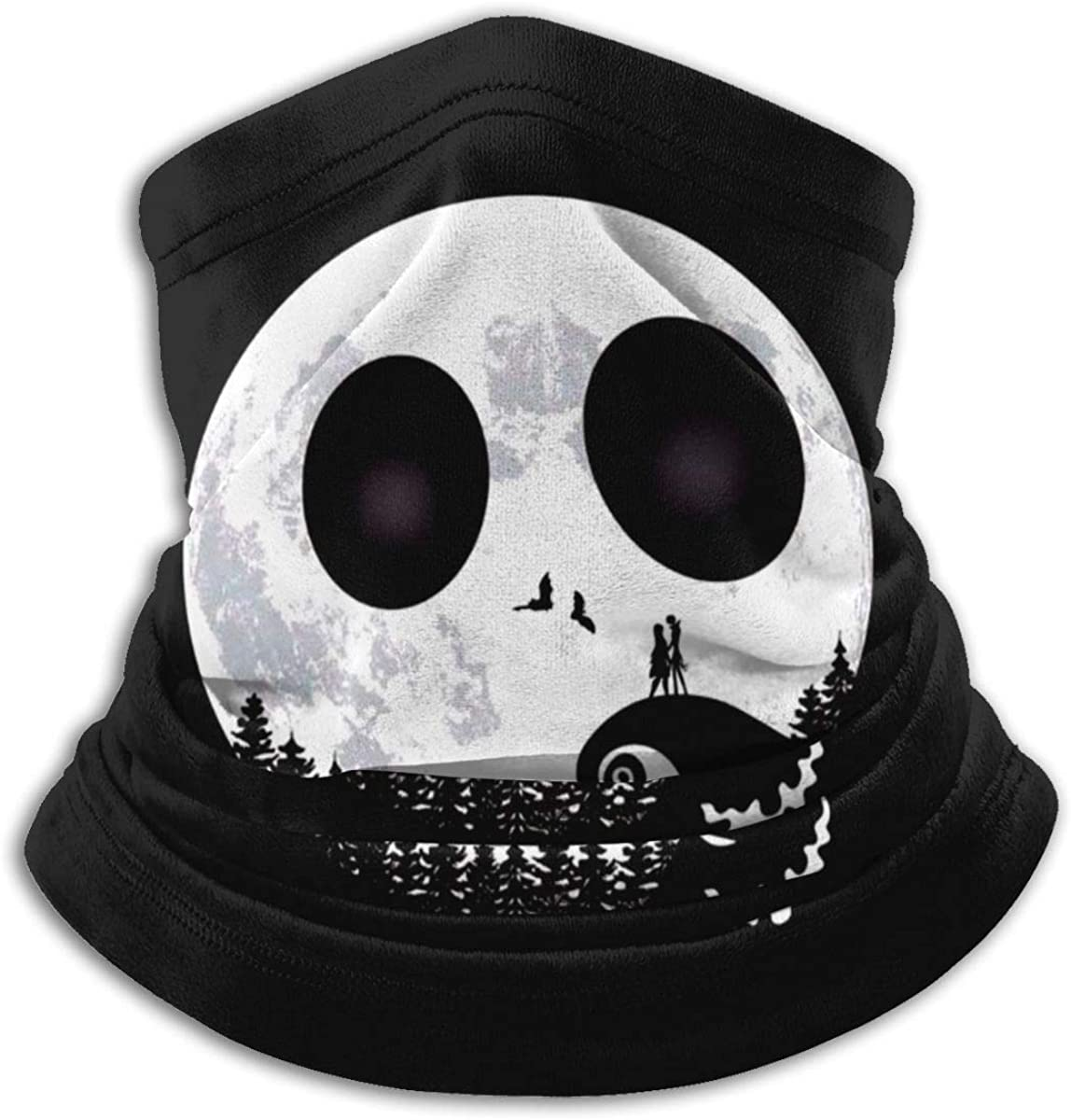 Jack Skellington Outdoor Mouth Mask Windproof Sports Face Mask Dust Shield Scarf Men Woman Neck Warmer