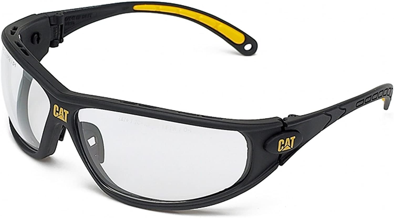 Caterpillar Mens Dozer Protecteur Workwear Lunettes de sécurité gris