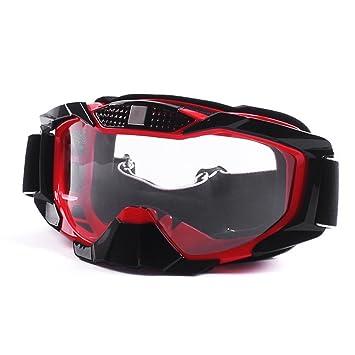 Fodsport Gafas de moto Gafas crossed Gafas ciclismo Gafas Protección Mascara para Moto Motocross Esqui Deporte