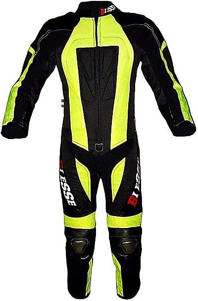 BIESSE – Traje de minimoto para niño de piel y cordura 600d ...