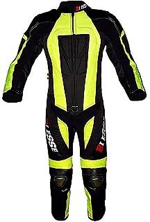 BIESSE - Traje de moto para adulto de piel y tela, divisible ...